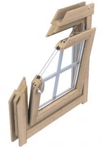 Fenster mit Doppelverglasung Lasita Maja bei Casando