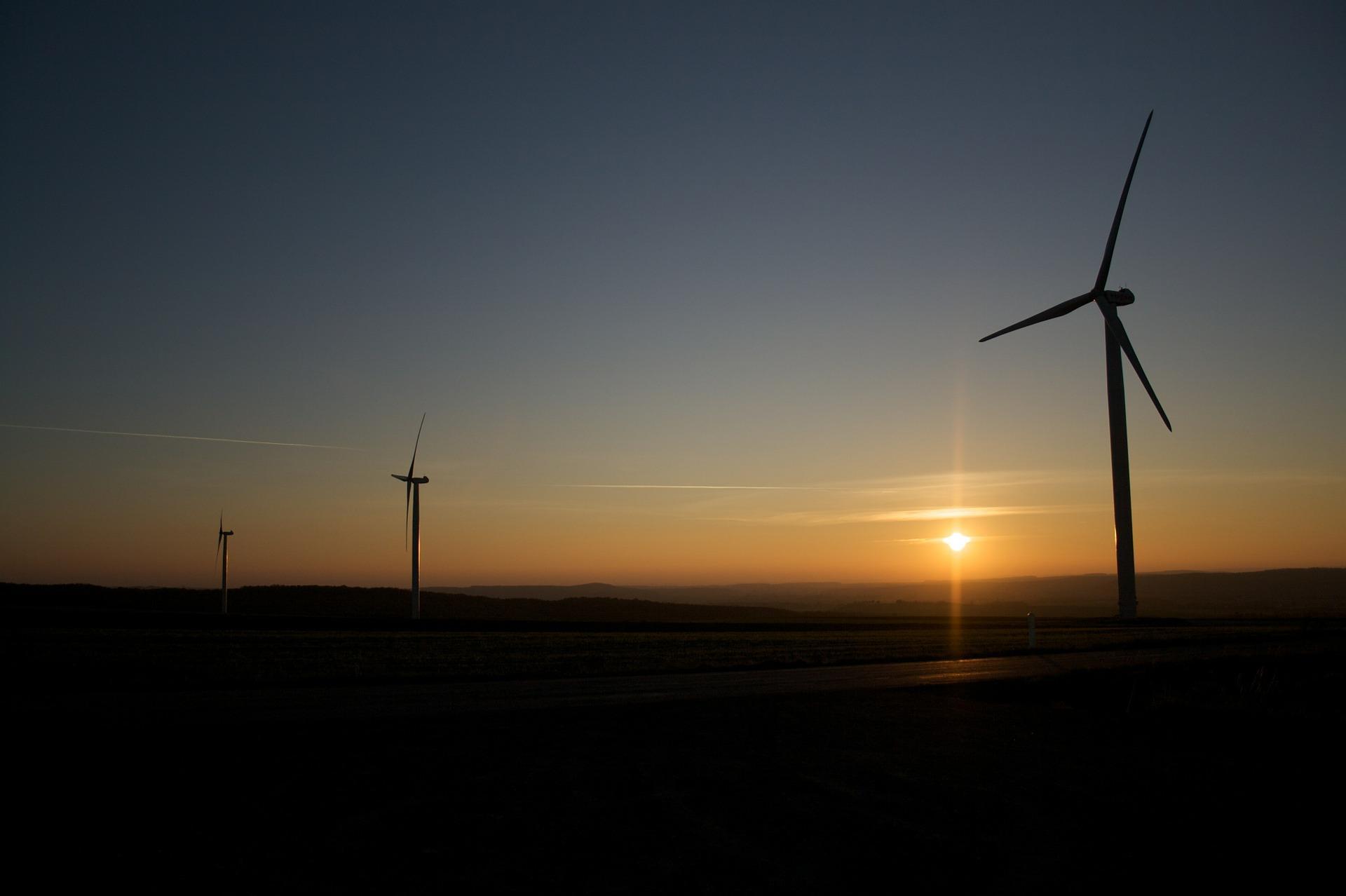 Abschreibungsbeginn bei Windkraftanlagen
