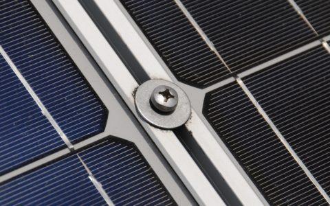 Photovoltaikanlage und das reflektierende Sonnenlicht