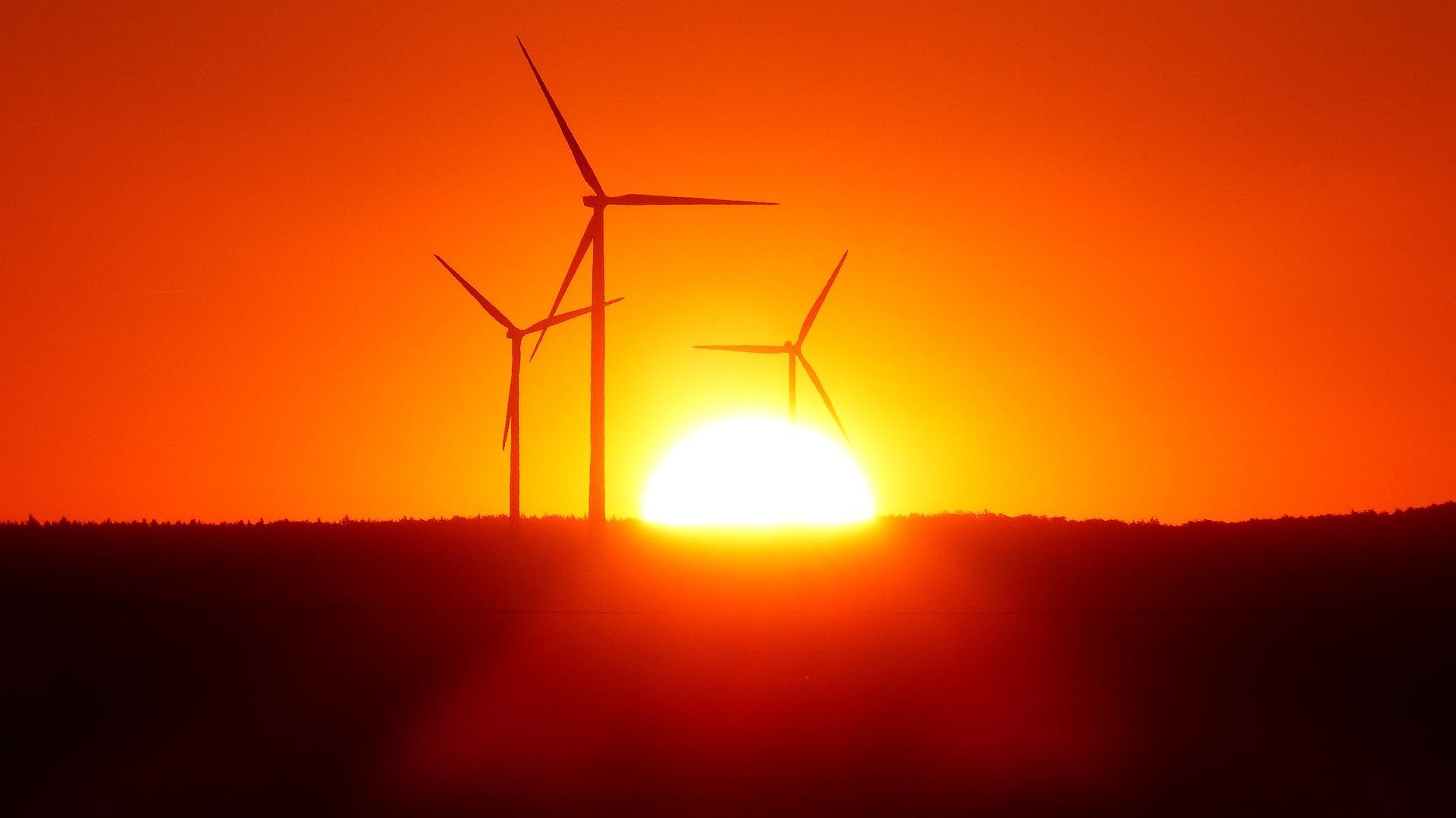 Baugenehmigung für eine Windkraftanlage — Baubeginn trotz Konkurrentenwiderspruch
